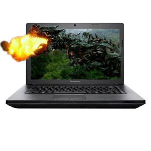 Lenovo联想G400AT-IFI 14英寸笔记本电脑(i5-3230M 4G 500G HD8570M 2G独显 DVD刻录 Linpus Lite)高亮黑