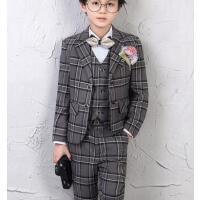 儿童西装简约大气男童礼服花童小西服套装钢琴演出服走秀表演服装户外新款男