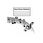 预订 Music Review Notebook: Music Journal For Children Teens