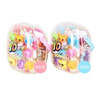 智高3D彩泥 12色橡皮泥 动物/恐龙/飞机模具玩具套装DD-5030