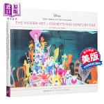 【中商原版】他们随心所欲地作画(第4卷):迪斯尼世纪中期的隐藏艺术 英文原版 The Hidden Art of Di