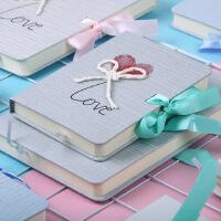 简约情人节记事笔记本子礼物创意盒装恋爱手帐日记精装本文具