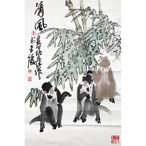 徐培晨《清风》著名画家