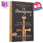 金雀花王朝 英文原版 The Plantagenets:The Warrior Kings and Queens Who Made England Dan Jones英国历史中世纪 革命前的王朝统治