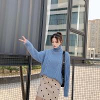 冬季中长款宽松上衣打底针织衫孕妇秋冬装新款毛衣套装