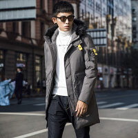 【买了都说好】冬装棉衣男韩版中长款加厚棉袄棉服男士外套
