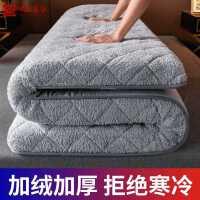 床垫软垫褥子家用冬季羊羔绒加厚保暖垫榻榻米冬天海绵垫子硬垫被
