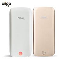 【包邮+聚合物原装电芯】Aigo 动力舱 FB10 薄 聚合物移动电源 手通用充电宝 10000毫安 苹果/HTC/i