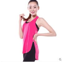 新款上衣瑜伽服套装背心女健身服装显瘦含胸垫背心 可礼品卡支付