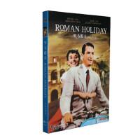 正版老电影碟片DVD光盘 罗马假日收藏版 1DVD 奥黛丽・赫