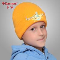金龙宝宝帽 kenmont儿童帽子 冬季男童女童针织帽毛线帽5928