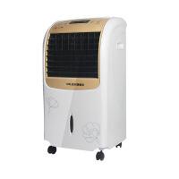 2018新款 空调扇 冷暖风扇加湿制冷风机遥控定时移动水冷气扇小空调 空调扇冷暖型-香槟金