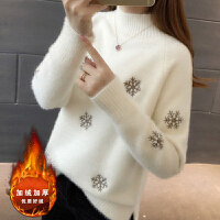 秋冬上衣喂奶期衣服哺乳装外出时尚哺乳衣冬季加绒加厚毛衣打底衫