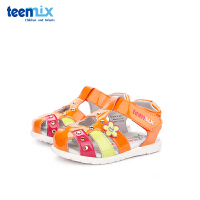 【119元任选2双】天美意teenmix童鞋女童凉鞋2019夏季新款幼童宝宝鞋儿童学步鞋(0-3岁可选)CX6077