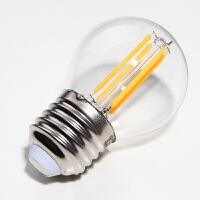 东联美式乡村专用LED球泡4Wled节能灯E27E14螺口暖光源照明灯泡