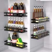 厨房置物架免打孔壁挂家用调味料架子用品调料架挂架多功能收纳架