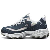 【满减商品】Skechers斯凯奇女鞋新品彩色流线熊猫鞋复古松糕厚底老爹鞋13144