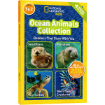 National Geographic Kids Ocean Animals Collection 4个海洋动物故事合