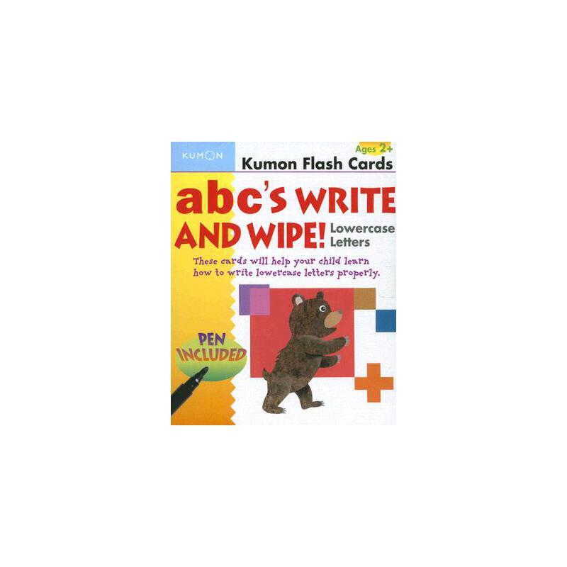 【预订】ABC's Write and Wipe!: Lowercase Letters [With Pen] 预订商品,需要1-3个月发货,非质量问题不接受退换货。