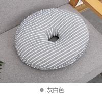 日式办公室美臀坐垫记忆棉圆形坐垫学生椅垫加厚透气翘臀垫慢回弹