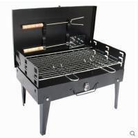 手提箱烤炉野外 烧烤炉 户外新款便携烧烤架 家用木炭 烧烤 架炉子