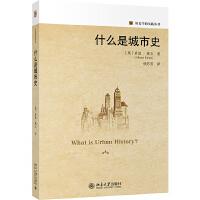 什么是城市史 北京大学出版社