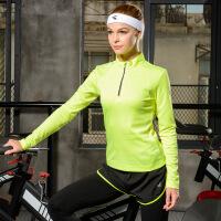 361度女装运动服女子长袖上衣健身跑步运动T恤衫