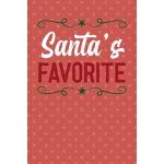 预订 Santa's Favorite: Notebook Journal Composition Blank Lin