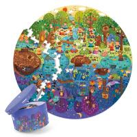 弥鹿(MiDeer)儿童拼图白天与黑夜150p昼夜作息认知益智早教玩具5岁+