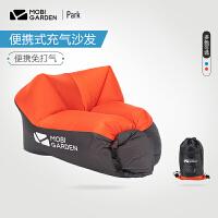 牧高笛户外露营空气沙发床午休沙滩便携式懒人充气沙发充气床