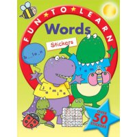 Fun to Learn Words Stickers ISBN:9781845313364