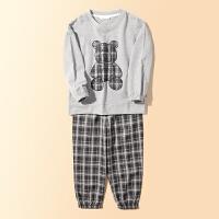 【2件3折:134.7元】儿童春秋套装纯棉中大童运动服小虎宝儿童装套装男童2021新款