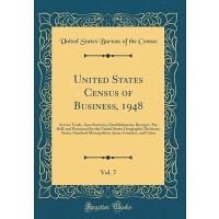 【预订】United States Census of Business, 1948, Vol. 7: Service