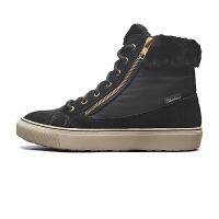 斯凯奇Skehers女鞋新款保暖绒里短筒靴高帮休闲鞋