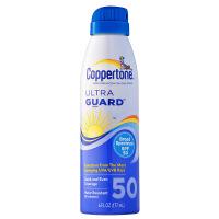 Coppertone 确美同 (水宝宝)透薄清新防晒喷雾 SPF30+ PA+++ 177ml(水般轻薄 持久防护 强