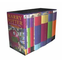 Harry Potter Classic Hardback Boxed Set 《哈利波特1-7全集》精装(英国儿童封面版) ISBN9780747593690