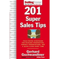 201 Super Sales Tips ISBN:9780071473903