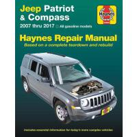 预订 Jeep Patriot & Compass, 2007 Thru 2017 Haynes Repair Man