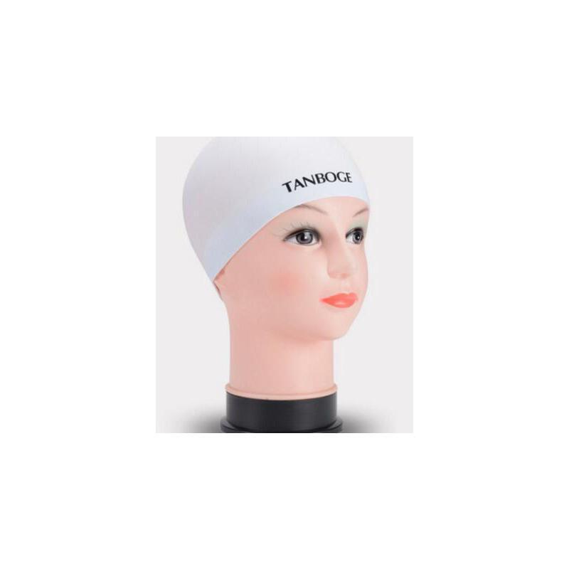 新款 防水无缝游泳帽男女纯色硅胶平圆帽舒适纯黑色   不粘头发 适合各种温度   支持礼品卡 品质保证 售后无忧 支持货到付款
