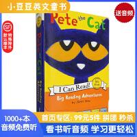 进口原版Pete the Cat: Big Reading Adventures5 Far-Out