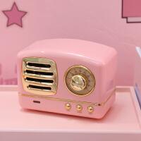 网红少女心蓝牙无线手机音箱复古小音响迷你便携式收音机
