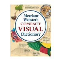 【DD】英文原版 Merriam-Webster's Compact Visual Diction韦氏图解词典 Mer