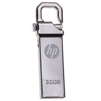 惠普(hp)金属钩头U盘 V250W 32G 全金属可以挂在钥匙串上