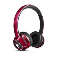 【当当自营】MONSTER/魔声 N-Tune灵动头戴式魔音耳机重低音手机电脑耳机有线 糖果红