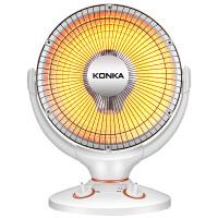 康佳家用小太阳取暖器台式办公室摇头烤火炉静音暖风机节能电暖气