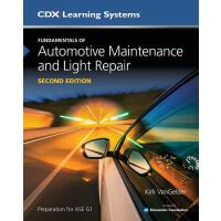 预订 FUNDAMENTALS OF AUTOMOTIVE MAINTENANCE & LIGHT REPAIR 2E