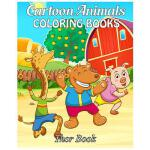 预订 Cartoon Animals Coloring Books: Coloring Books for kids