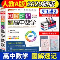 2020新版PASS绿卡图解速记高中数学pass绿卡图书高一二三数学辅导资料书人教RJ版基础知识必修+选修高考数学知识