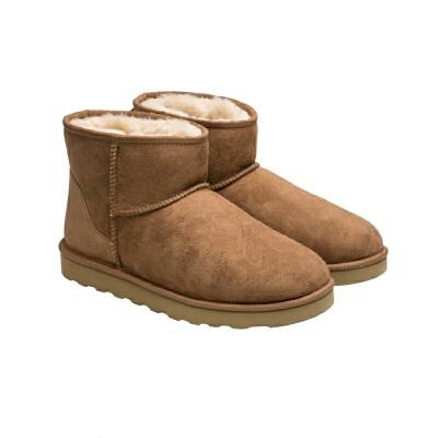 【2.16网易严选超品日 6折专区】短筒皮毛一体女士雪地靴仅售供应商建议价的1/4