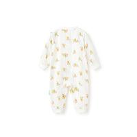 趣味乐园婴儿纱布连体服 1件装